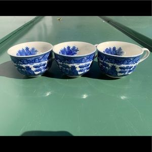 3 Cups Made in Japan.